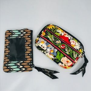 4/$20 VERA BRADLEY Coin purse & Wallet FLORAL
